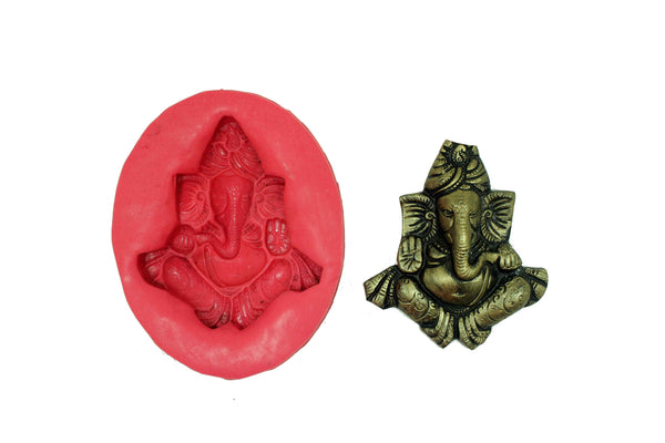 Gajarup Ganapati Temple Mould - Claysphere
