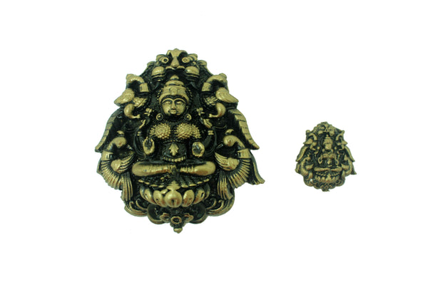 Rajarajeshwari on Peetha Temple Mould - Claysphere