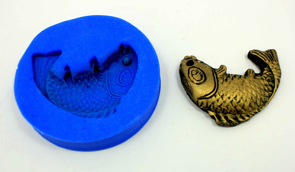 Fish Pendant Mould - Claysphere