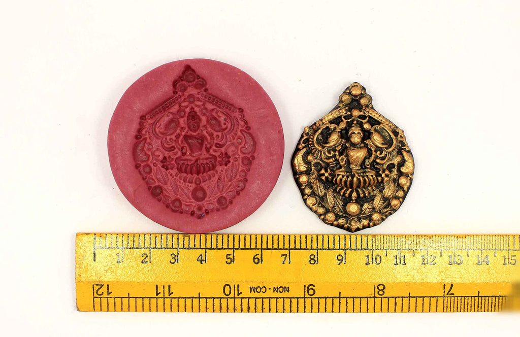 Mayoora Lakshmi Temple Mould - Claysphere