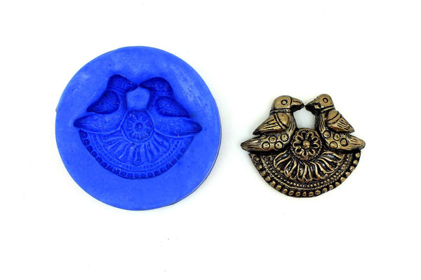 Twin Bird Pathakam Bird mould - Claysphere