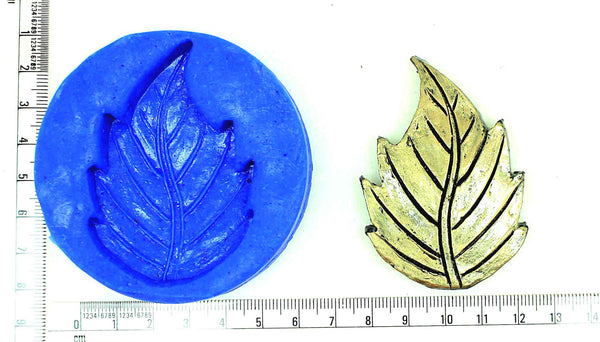 Tropical Leaf Pendant Mould - Claysphere