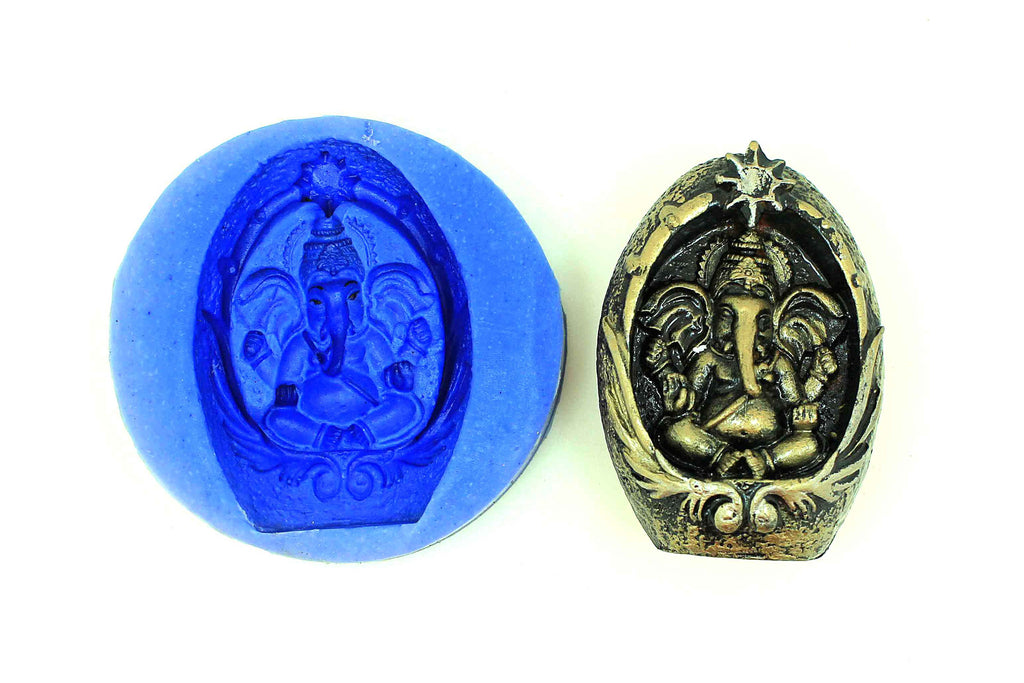Maha Ganesha Temple Mould - Claysphere