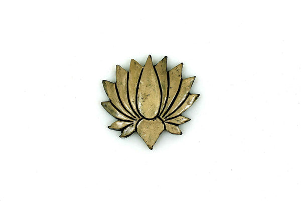 Blossom Lotus Floral Temple Mould - Claysphere