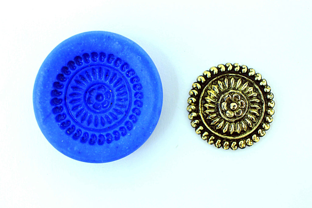 Chakra Temple stud mould - Claysphere