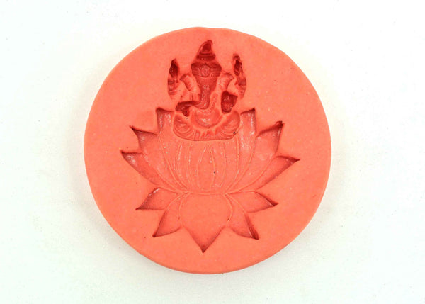 Lotus Ganesha Temple Mould - Claysphere