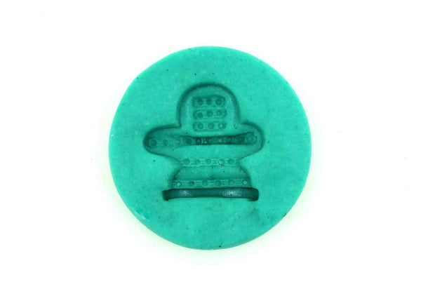 Shiva Linga Pranic small Temple Mould - Claysphere