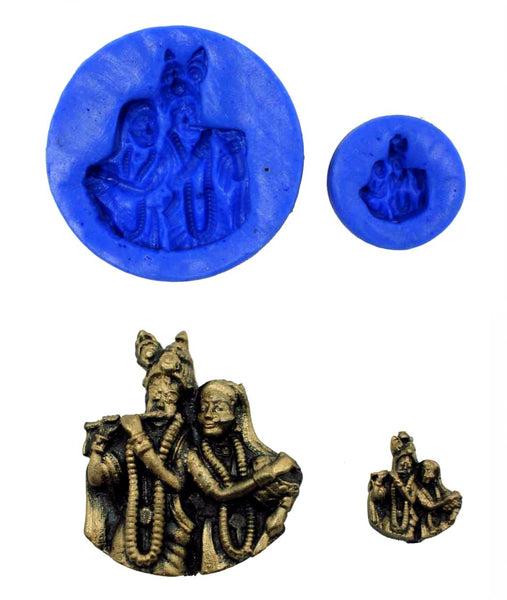 Krishnakeshav Temple Mould (Set) - Claysphere