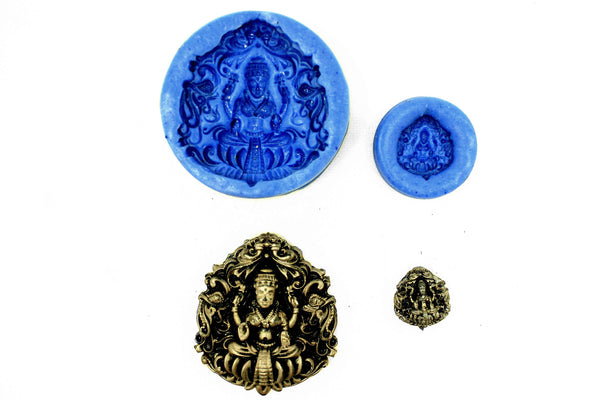 Chakrika Lakshmi Temple Mould (Set) - Claysphere