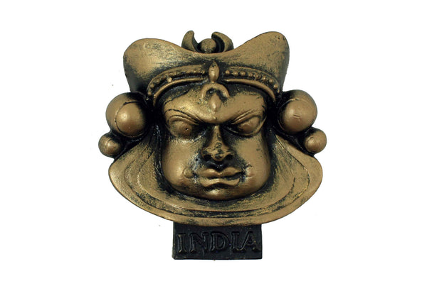 Kathakali- Roudram (wrath) Temple Mould - Claysphere