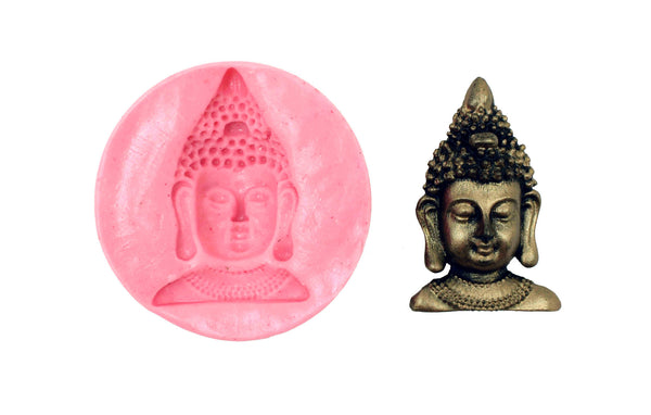 Smiling Buddha Temple Mould - Claysphere