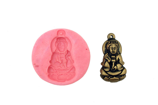 Sakyamuni Buddha Temple Mould - Claysphere