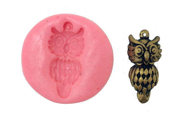 Owl Bird mould - Claysphere
