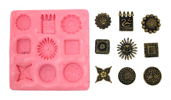 Vibrant Big Studs Mould Pad - Claysphere