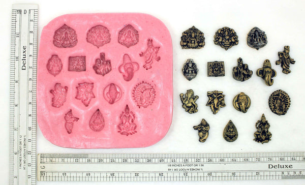 Temple Idols Studs Mould Pad - Claysphere