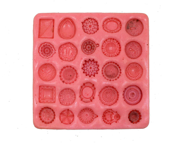 Exotic Designer Studs Mould Pad