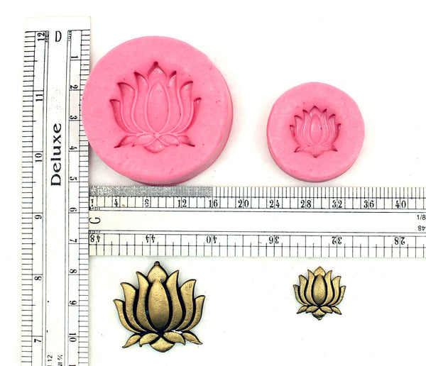 Ambuj Lotus Floral Pendant Mould - Claysphere