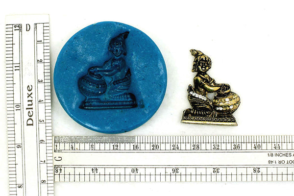 Krishna Leela Temple Mould - Claysphere