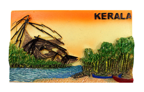 Kerala Fishing Net Scenery Mould - Claysphere