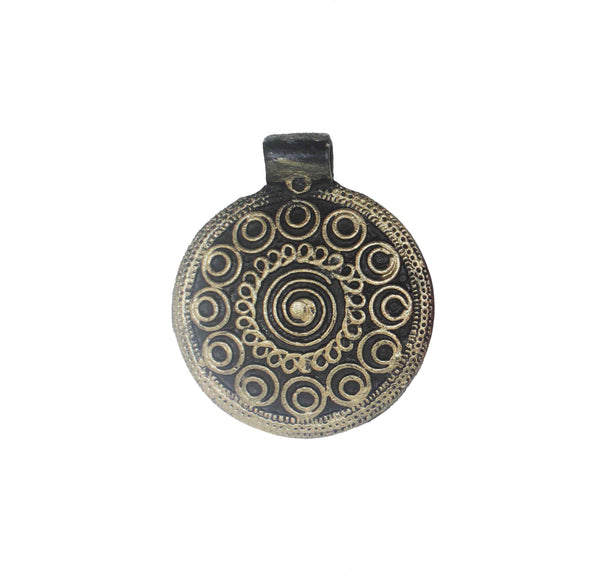 Mystery Frills Motif Art Pendant Mould - Claysphere