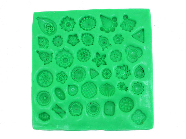 Assorted Small Studs Mould Pad - Claysphere