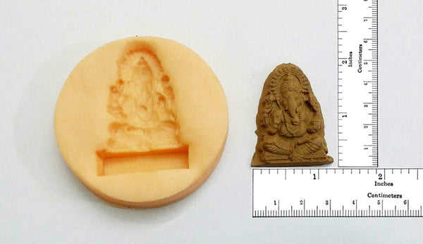 Spiritual Ganesha Small Temple Mould - Claysphere