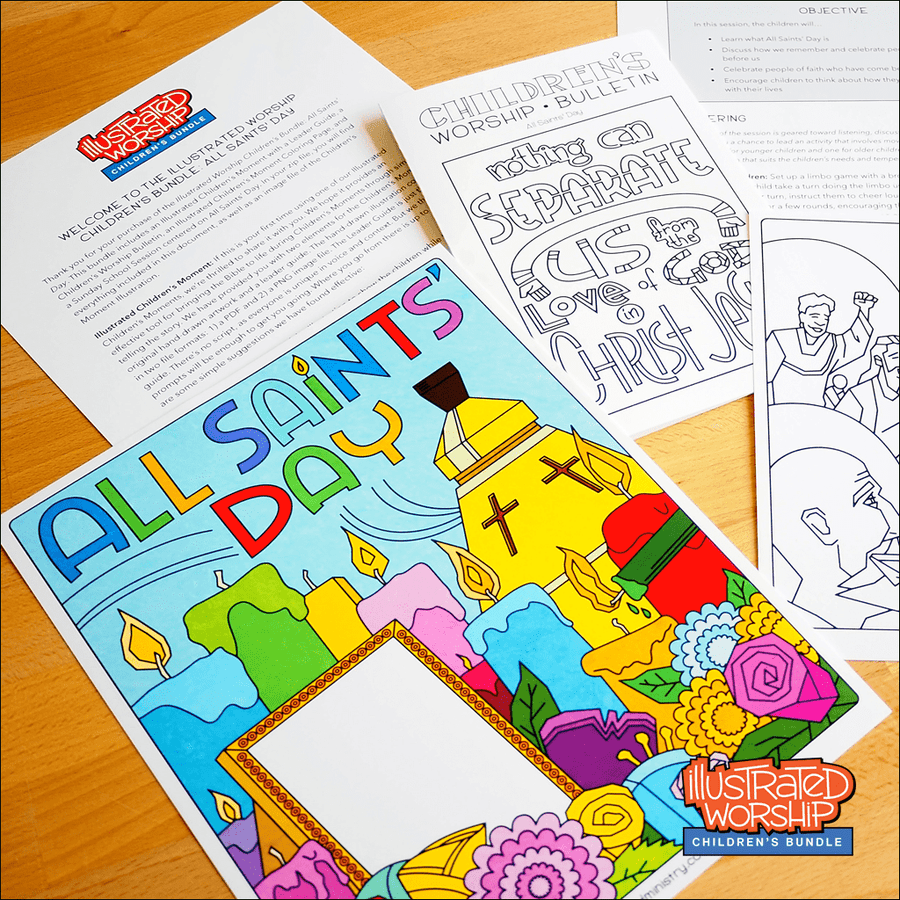 All Saints' Day Children's Resources