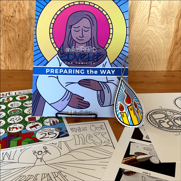 An Illustrated Advent for Families: Preparing the Way (2018)