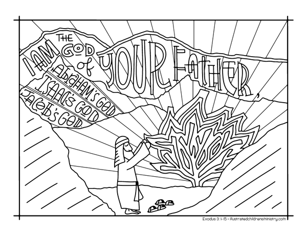 Bible Story Coloring Pages: Fall 2017