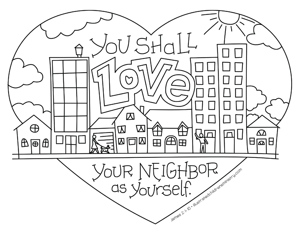Bible Story Coloring Pages: Fall 2018 - Illustrated ...