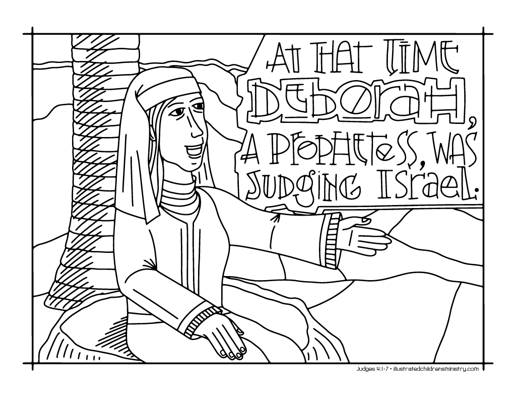 Bible Story Coloring Pages: Fall