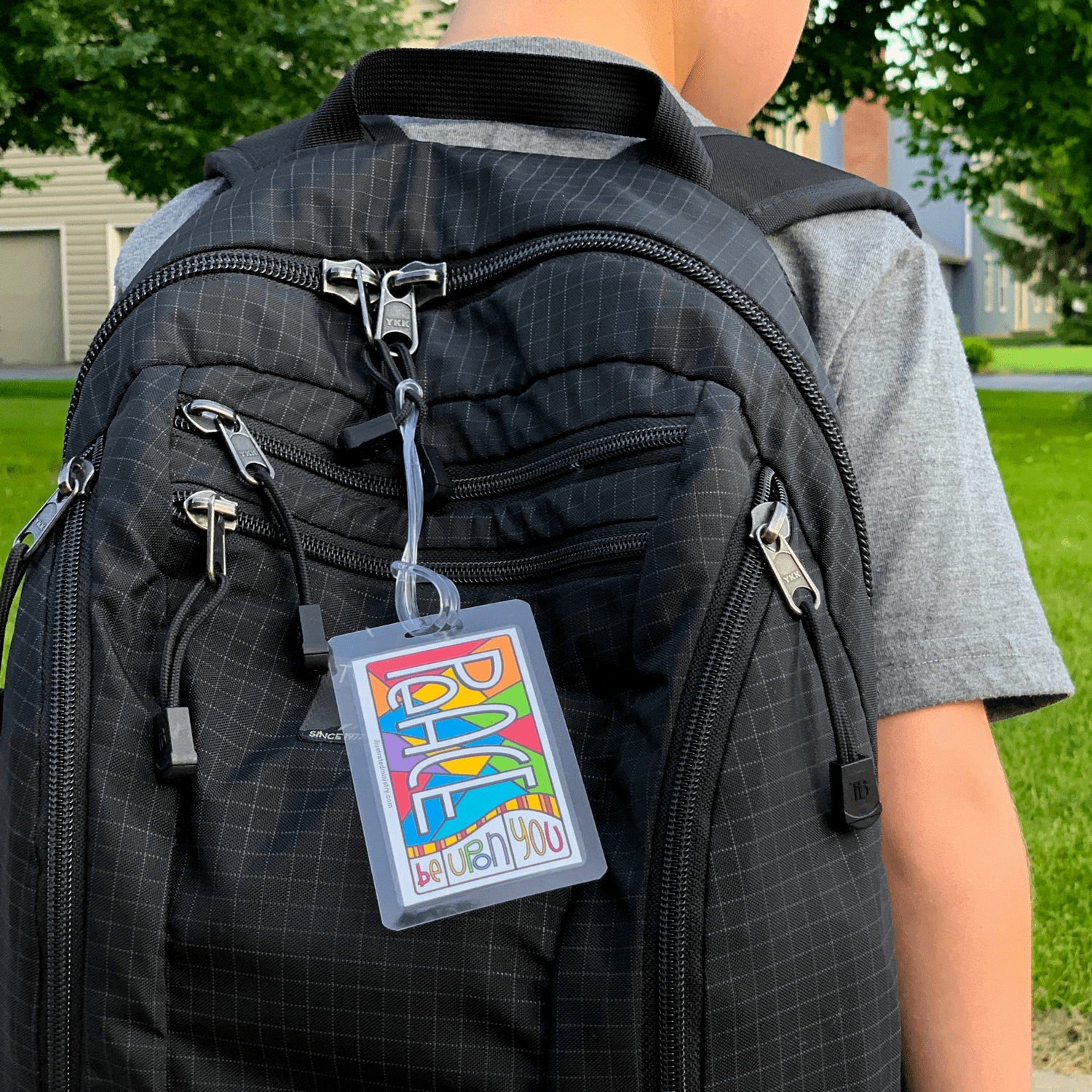 Back-to-school Backpack Tags