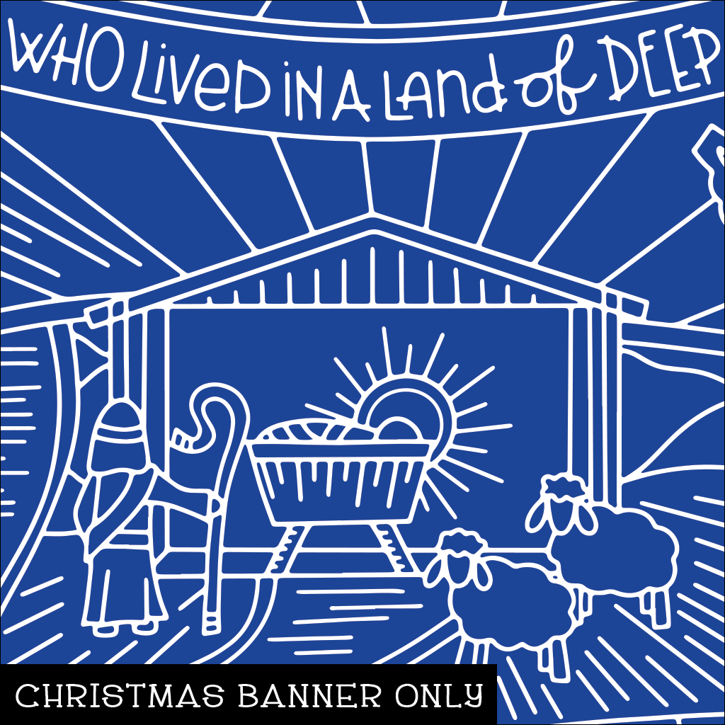 Nativity Christmas Banner
