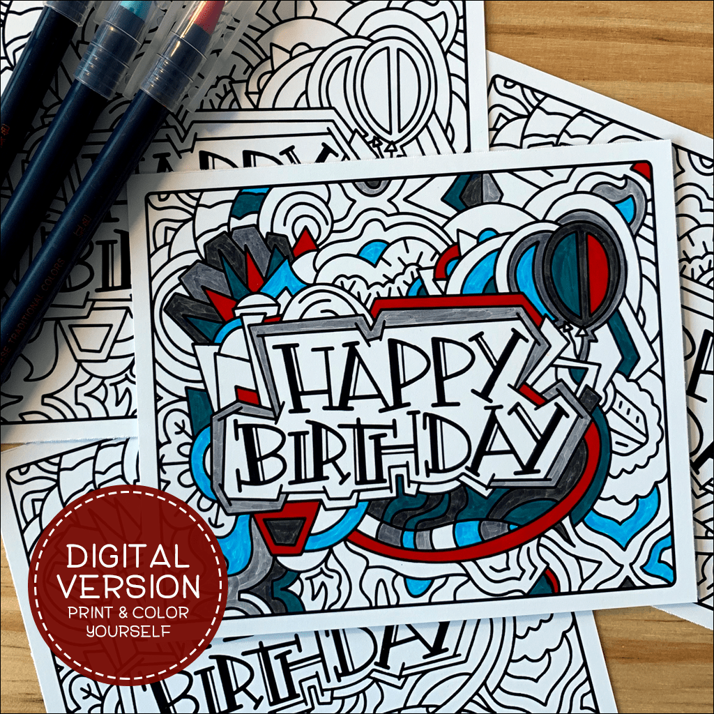 Happy Birthday Digital Postcards