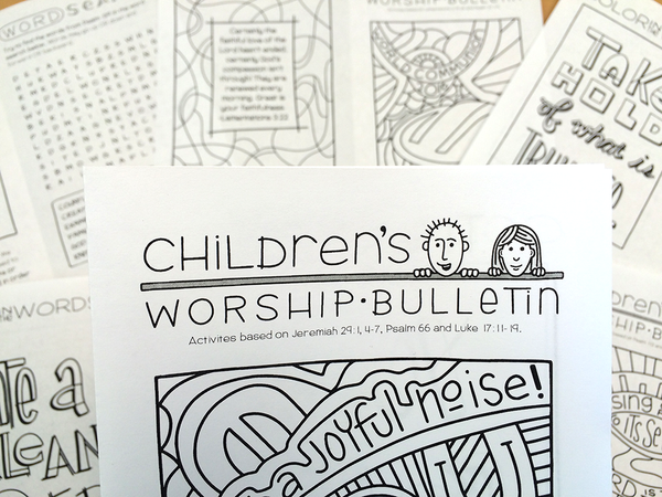 Illustrated Worship Resources: Fall 2016