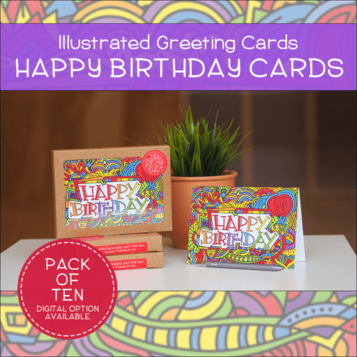 Happy Birthday Greeting Cards