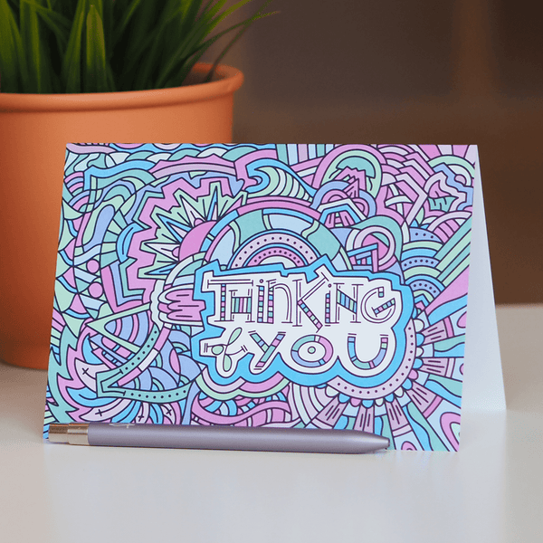Illustrated Greeting Cards – Thinking of You Cards
