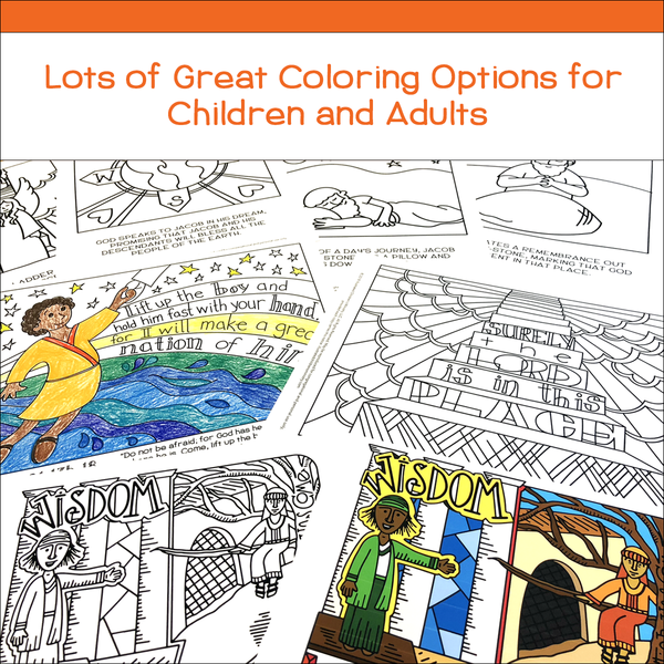Coloring Curriculum for Sunday School