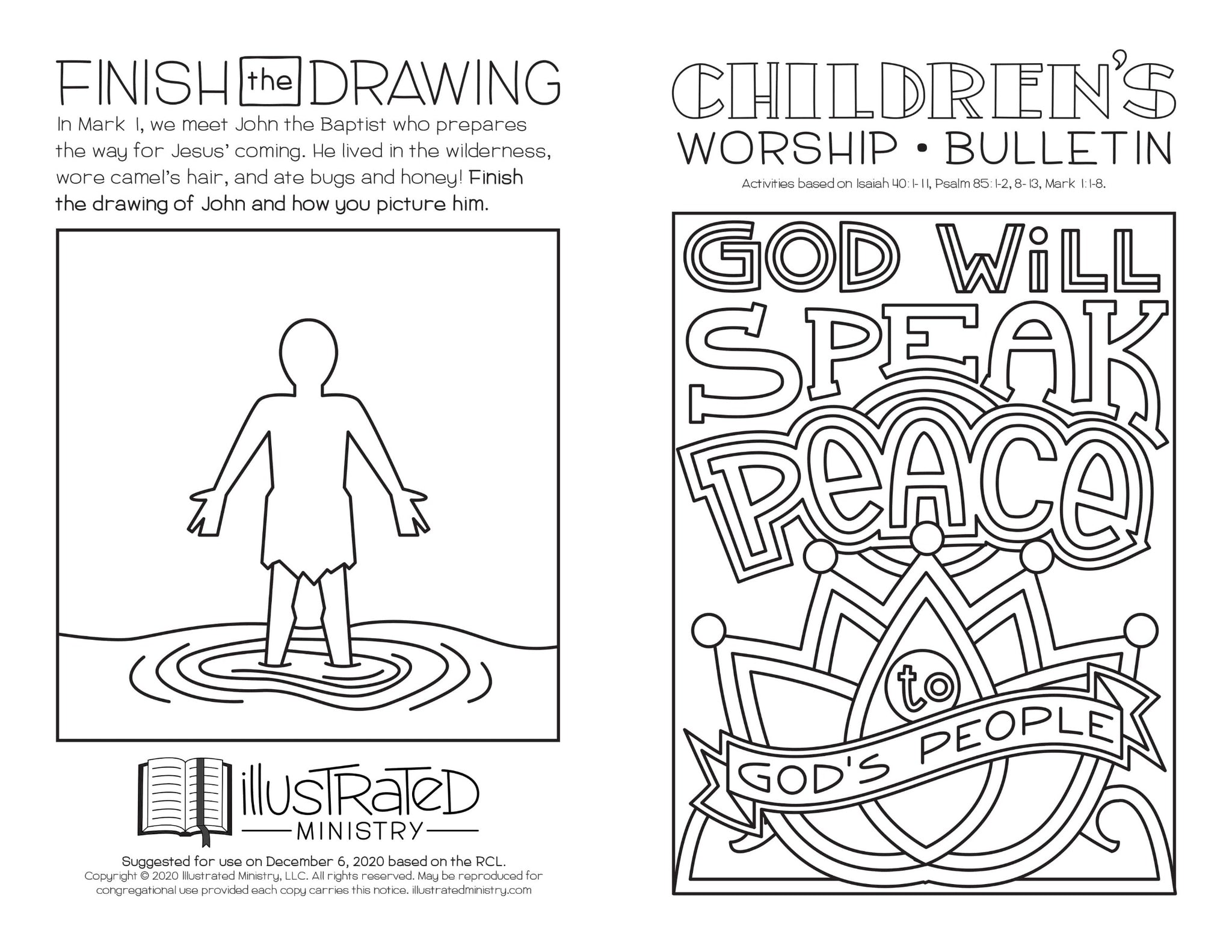 Illustrated Worship Children's Bundle: Winter 2020-2021