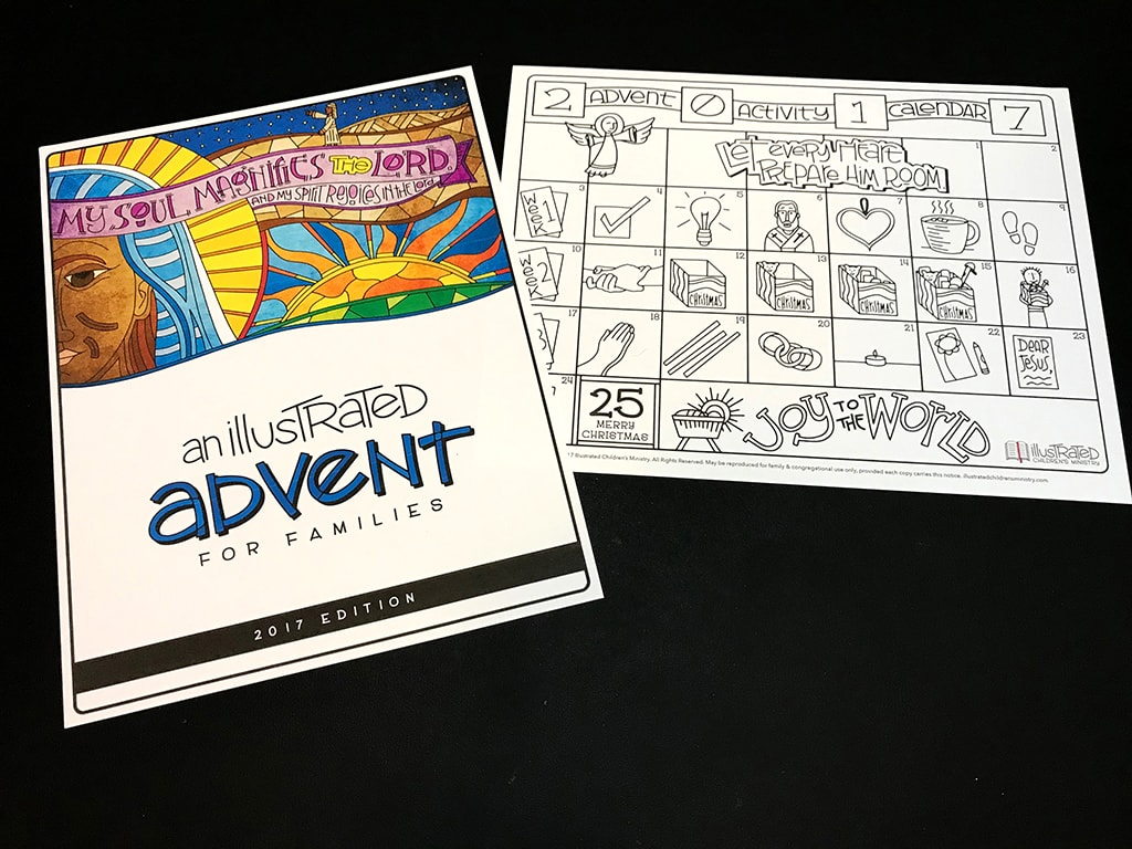 An Illustrated Advent for Families Advent Calendar