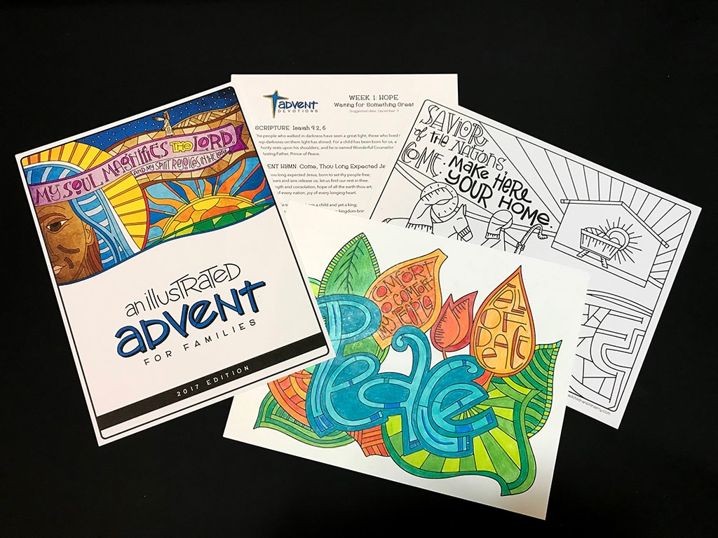 An Illustrated Advent for Families Devotional Guide