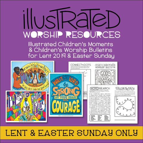 Illustrated Worship Resources: Lent 2019