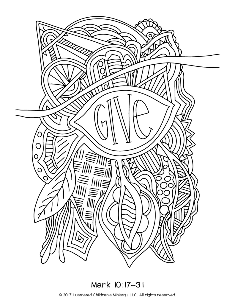 lenten coloring pages 85x11 2016