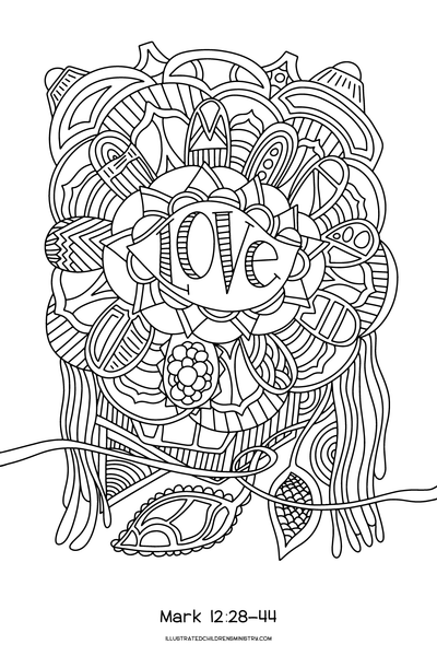 coloring pages for lent - photo#14