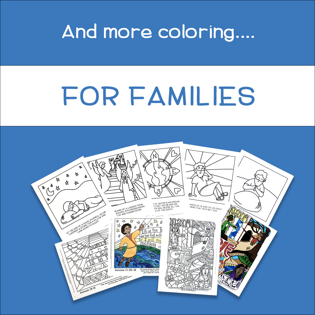 Coloring Devotionals for Families