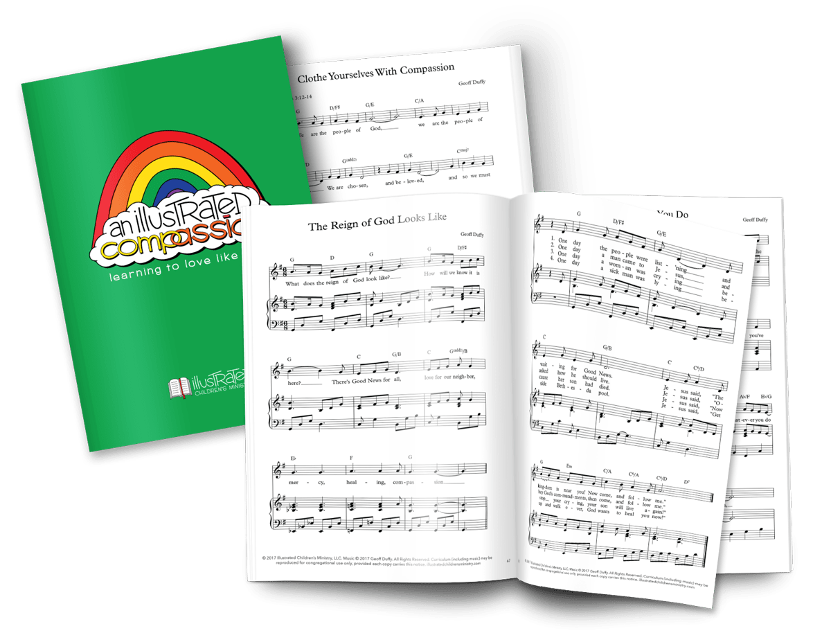 An Illustrated Compassion: Learning to Love Like God Curriculum Music