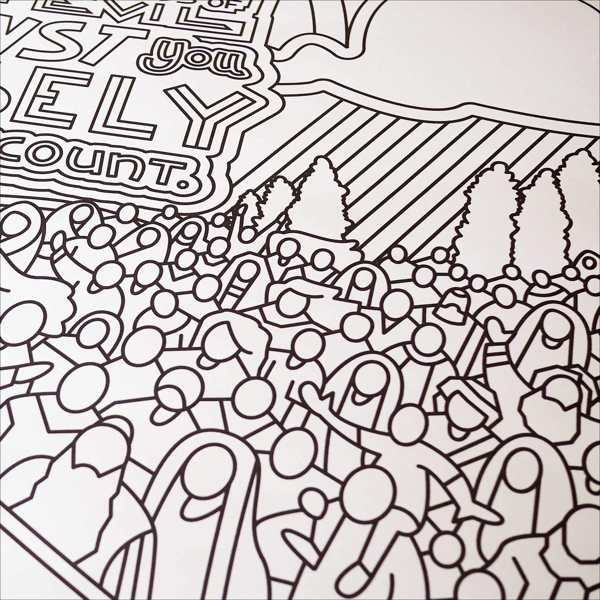 The Beatitudes Coloring Posters