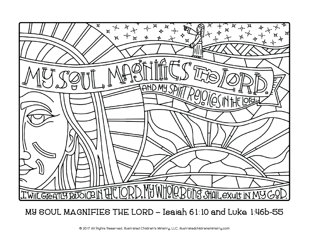 advent journey coloring pages 85x11 - Isaiah 64 8 Coloring Page