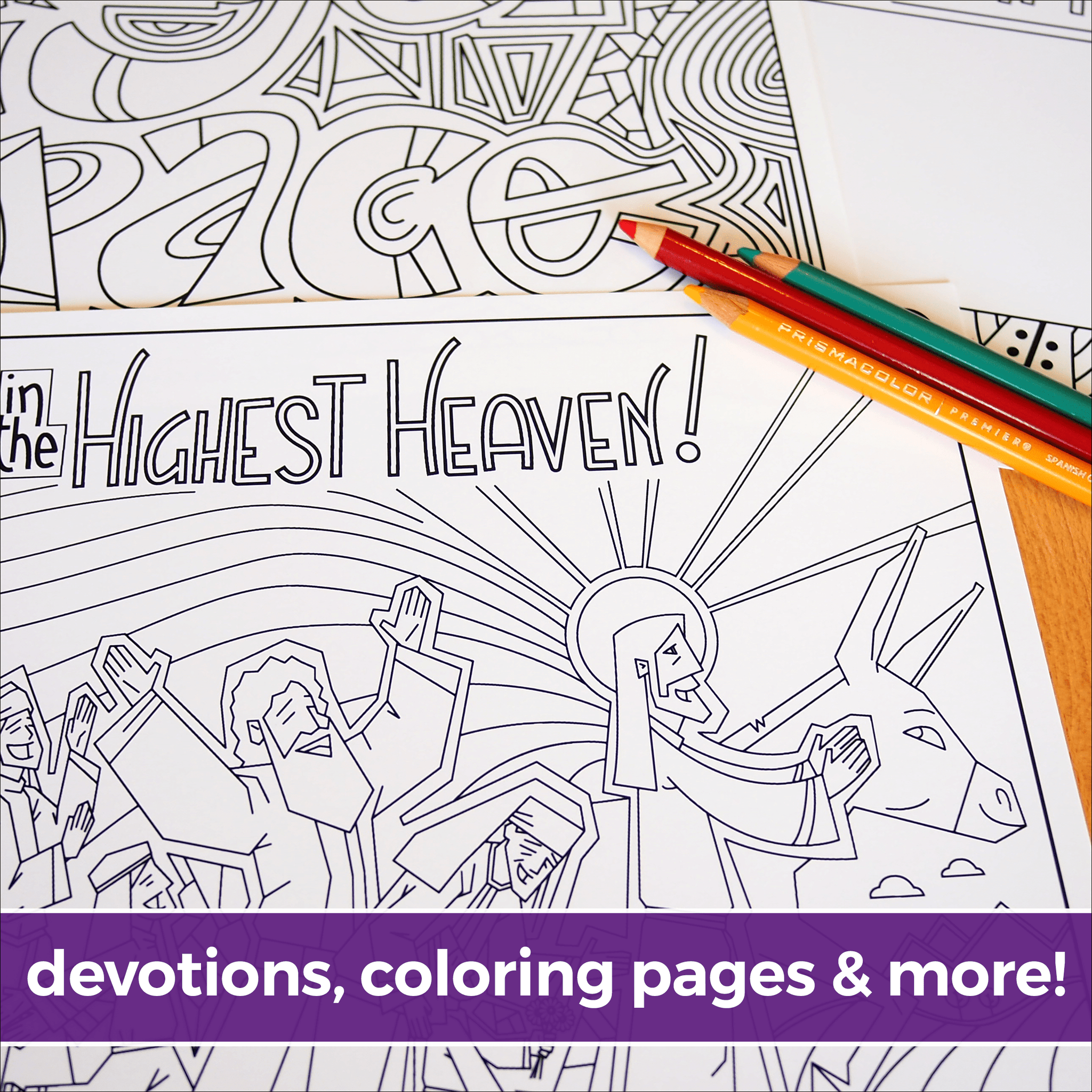 An Illustrated Lent for Families: Reflections on Prayer