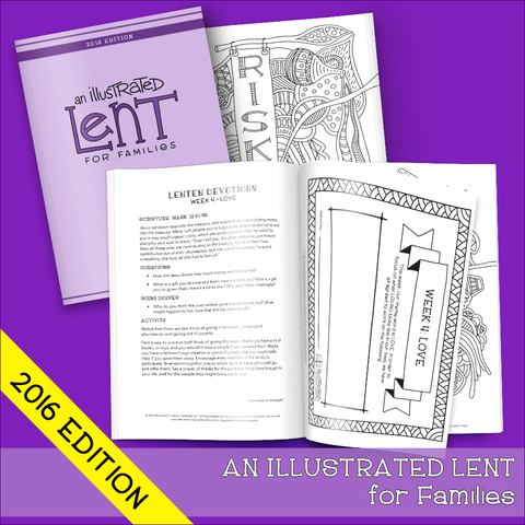 An Illustrated Lent for Families (2016)